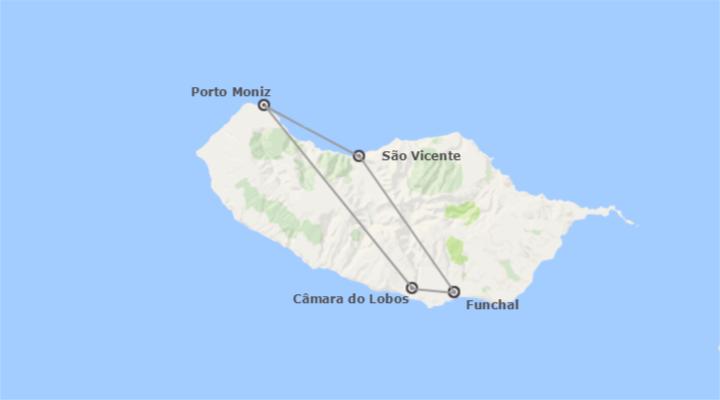 Madeira: Funchal Completa