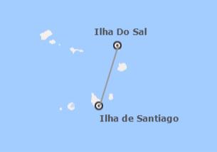 Cabo Verde: Sal e Santiago