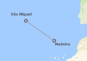 Madeira e Açores: Madeira e São Miguel de avião