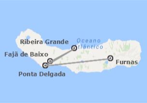 Açores: São Miguel com Furnas