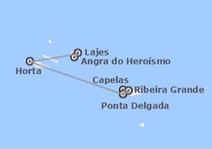 Açores: São Miguel, Faial e Terceira