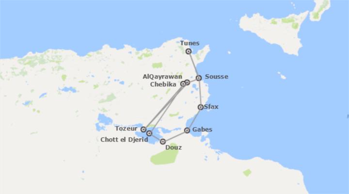 Aventura no Deserto Tunisino e Praia