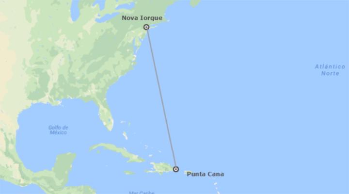 EUA e República Dominicana: Nova Iorque e Punta Cana