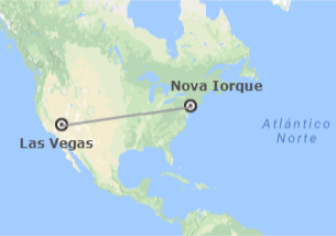 EUA: Nova Iorque e Las Vegas
