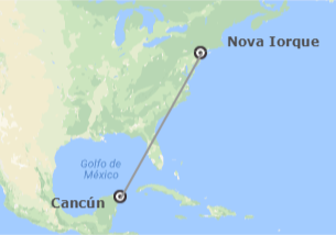 EUA e México: Nova Iorque e Cancun