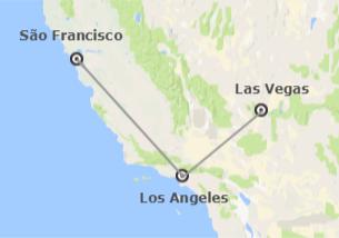 EUA: Las Vegas, Los Angeles e São Francisco