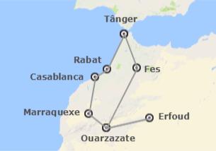 Marrocos: Rota das Casbás