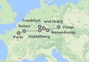Sul e Centro da Europa: De Paris a Praga