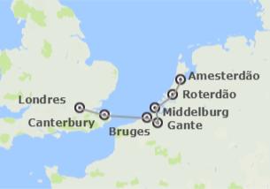 Inglaterra e Países Baixos: Londres e Países Baixos