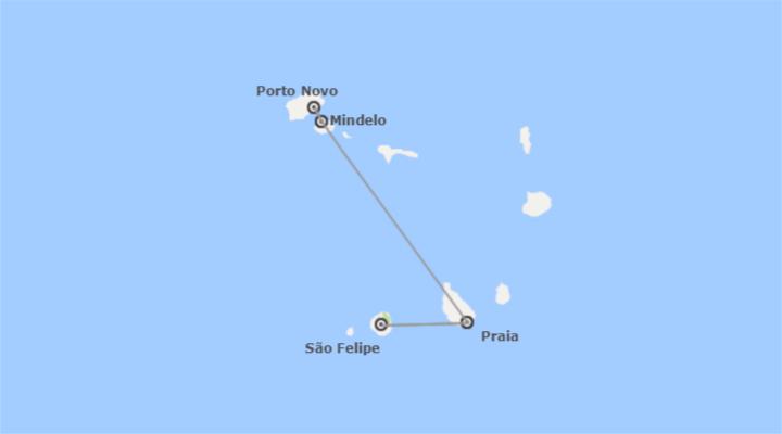 Cabo Verde: São Vicente, Santo Antão, Santiago e Fogo