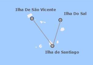 Cabo Verde: Sal, Santiago e São Vicente
