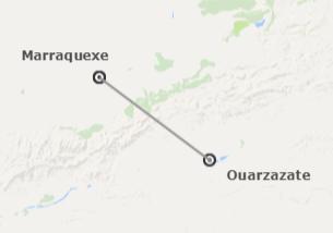 Marrocos: Marraquexe e Ouarzazate