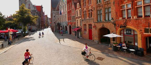 Hotéis em Bruges