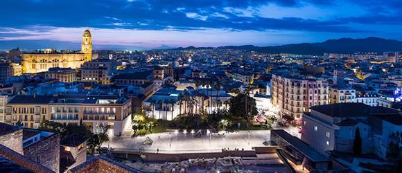 Hotéis em Málaga