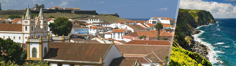 Açores: Terceira e São Miguel de avião, ao seu gosto flexível em noites