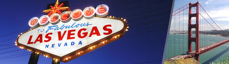 EUA: Las Vegas e São Francisco, ao seu gosto flexível em noites