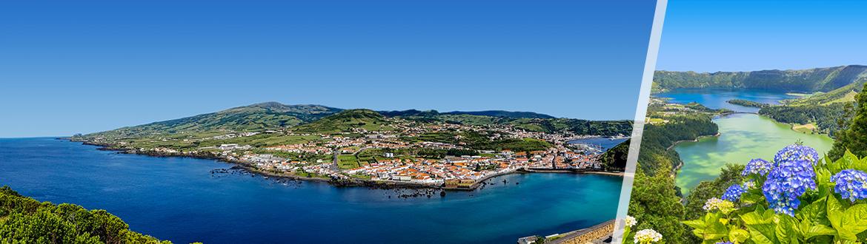 Açores: São Miguel e Faial de avião, ao seu gosto flexível em noites