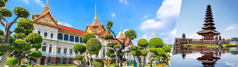 Tailândia e Camboja: Banguecoque e Siem Reap, ao seu gosto flexível em noites
