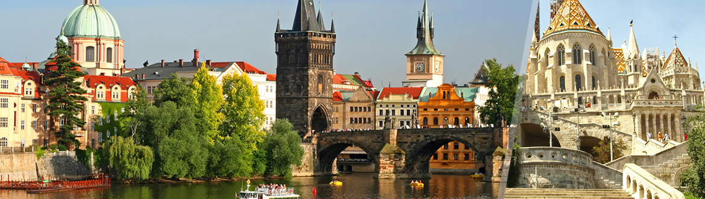 Europa Central: Praga e Budapeste de avião, ao seu gosto flexível em noites