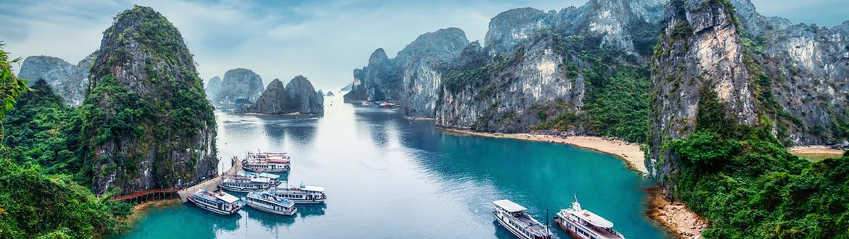 Vietname e Tailândia: Vietname e Phuket, circuito com cruzeiro e praia