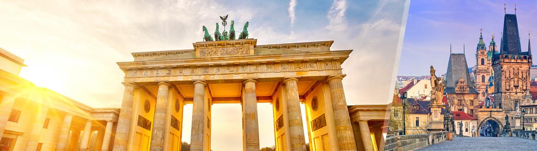 Europa Central: Berlim e Praga de avião, ao seu gosto flexível em noites