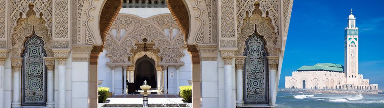 Marrocos: Casablanca e Marraquexe, ao seu gosto flexível em noites