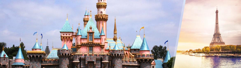 França: Disneylândia e Paris, ao seu gosto flexível em noites