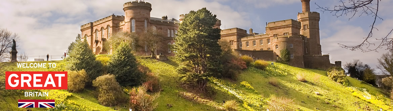 Escócia: Percurso pelos Castelos e Palácios Escoceses, ao seu gosto de carro