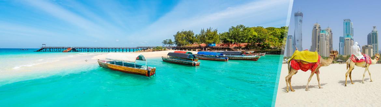 Circuito Zanzibar : Emirados Árabes e ilhas do Índico dubai zanzibar ao