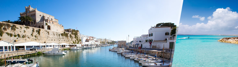 Espanha (Ilhas Baleares): Menorca e Formentera, ao seu gosto com estadia na praia