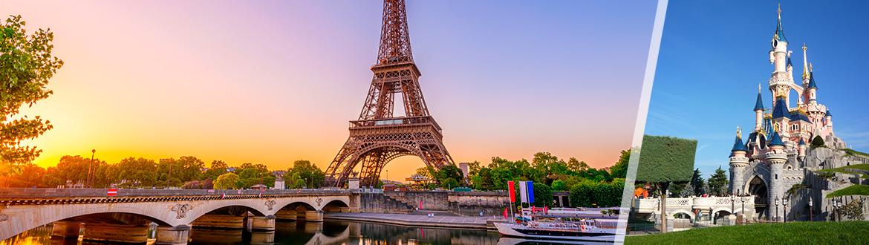 França: Paris e Disneyland, ao seu gosto flexível em noites