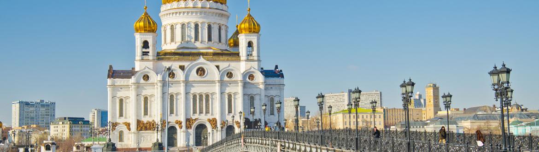 Rússia: Moscovo e São Petersburgo comboio diurno, circuito clássico