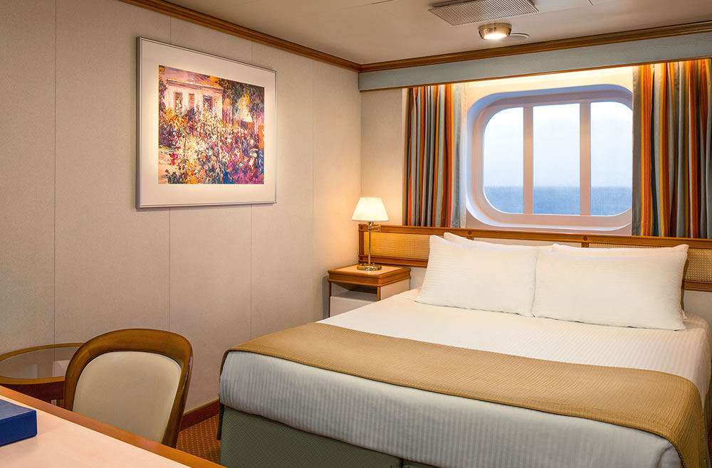 Deck emerald 8 do navio ruby princess princess cruises for Exterior vista obstruida