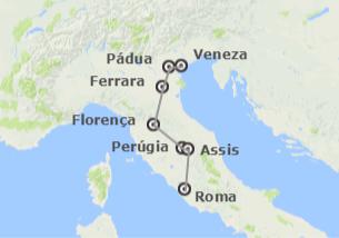 Itália: Veneza, Florença e Roma