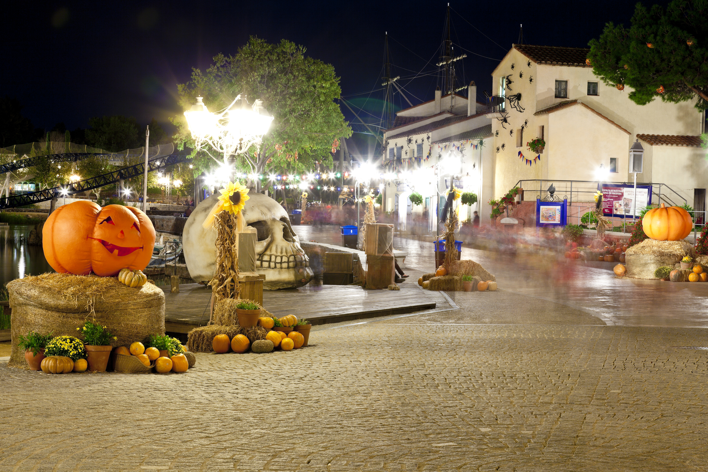 Halloween em PortAventura