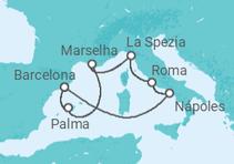 Mediterrâneo Ocidental + Barcelona