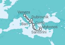 Mergulho nas Ilhas Gregas + Veneza