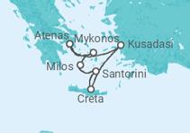 Egeu Idílico + Atenas