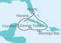 Caraíbas e Cuba + Miami