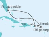 Itinerário do Cruzeiro Porto Rico, Ilhas Virgens Britânicas, Sint Maarten - Celebrity Cruises