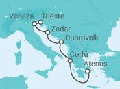 Itinerário do Cruzeiro Itália, Croácia, Montenegro, Grécia - Pullmantur