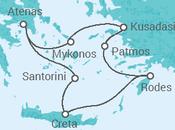 Itinerário do Cruzeiro Ilhas do Egeu + Atenas - Celestyal Cruises