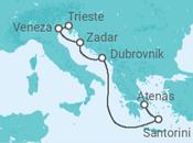 Itinerário do Cruzeiro Descubra Veneza, Croácia e Grécia - Pullmantur